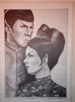 Spock and T'Marr (Alice Jones)